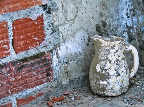 Witte pot