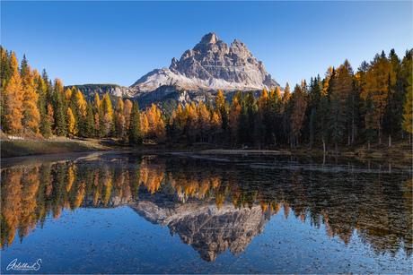 Herfst bij Lago Antorno