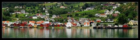 Kleurrijk dorp