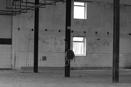 Open ruimte in een mooie fabriek