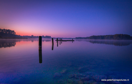 bleu sunrise