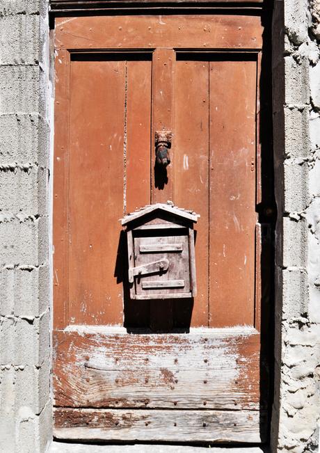 oude deur zuid Franfrijk