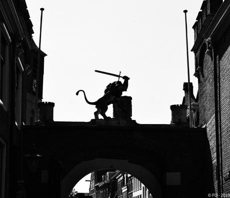 Leiden, Burcht