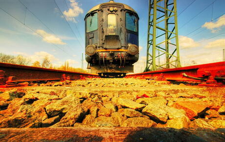 Oude locomotief 2