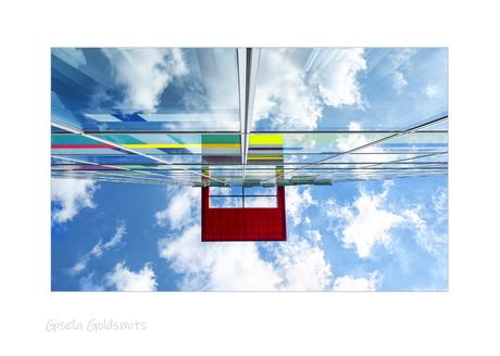 Waar wolkenluchten en architectuur versmelten