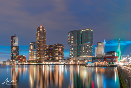 The city with the best skyline: Rotterdam