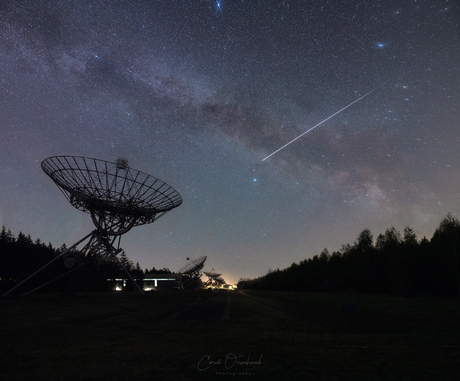 Milkyway and ISS