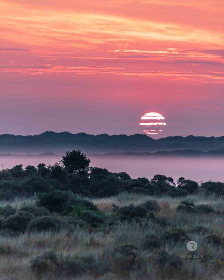 zonsopgang oerd ameland