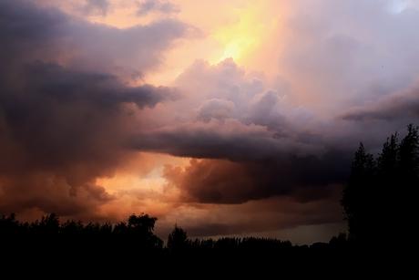 het was erg rumoerig in de lucht......