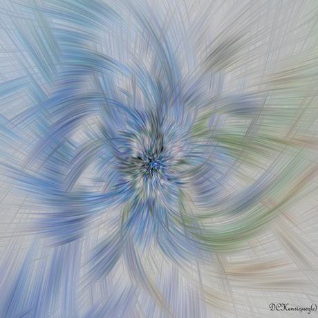 blauw druifje kronkel