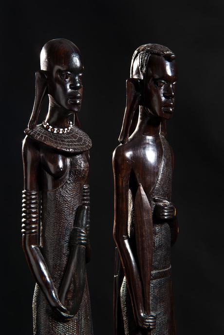 Afrika beelden - portret
