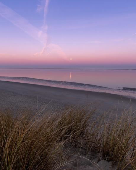 Stilte op het strand