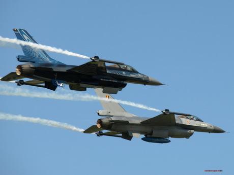 belgische F16 Demo