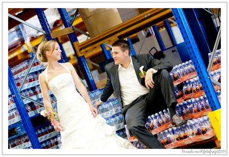 Bruidsreportage - Bruidsreportage bij Bavaria, Tim en Inge het was geweldig om te doen. Gr Rene Verschuren - foto door verschuren op 21-06-2011 - deze foto bevat: portret, bruidsreportage, verschuren