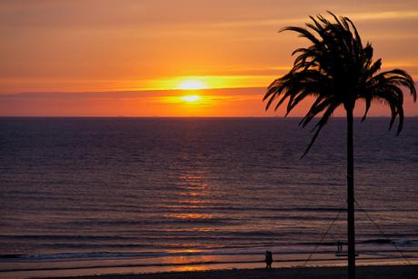 Sunset Zandvoort2