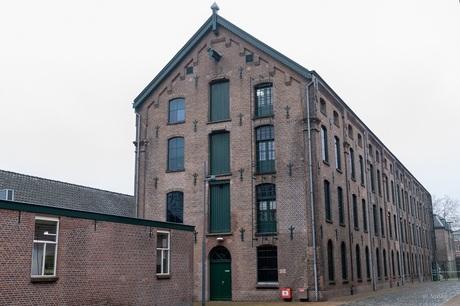 Markant gebouw van het textielmuseum Tilburg 2/2