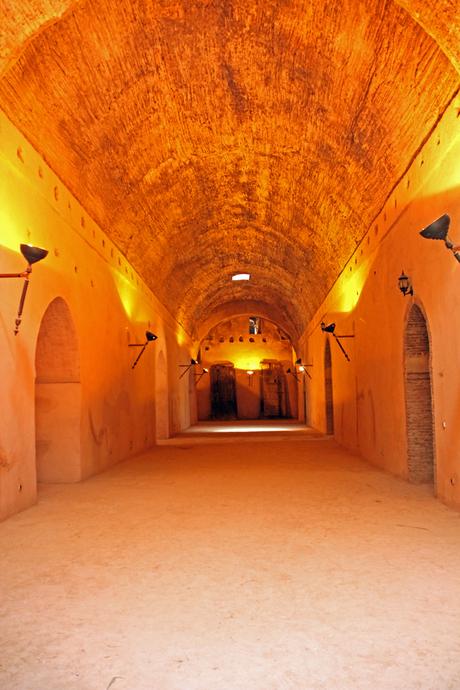 Les greniers de Moulay Ismail, Meknès (Marokko)