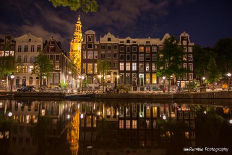 Nieuwe kerk, Amsterdamse grachten