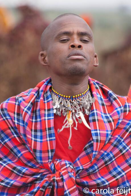 masai warriar