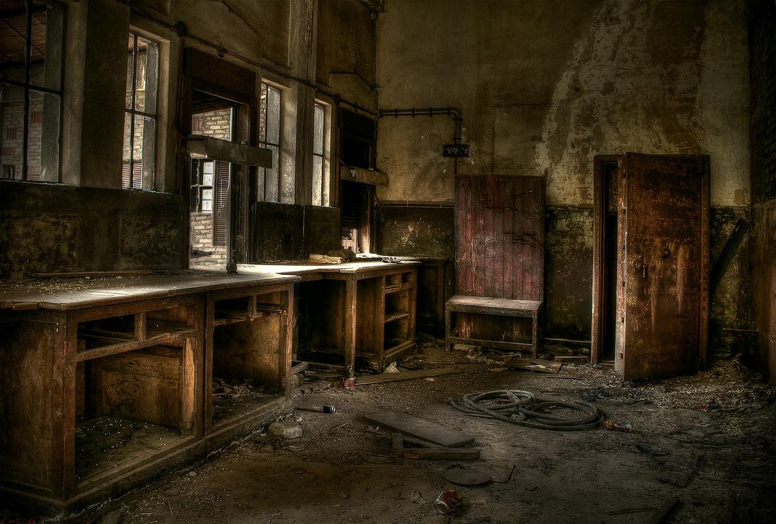 Abandoned - ... - foto door jacoline_zoom op 05-08-2011 - deze foto bevat: oud, gebouw, urban, mijn, verlaten, hdr, urbex, kolen
