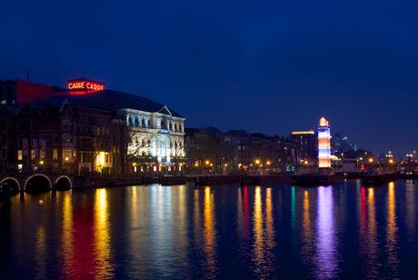 Vuurtoren Amsterdam Light Festival
