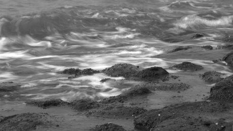 terugtrekkende zee