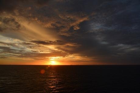 Sunset Offshore Brazil