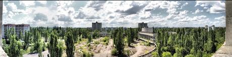 Pripyat Panorama + HDR - De verboden zone