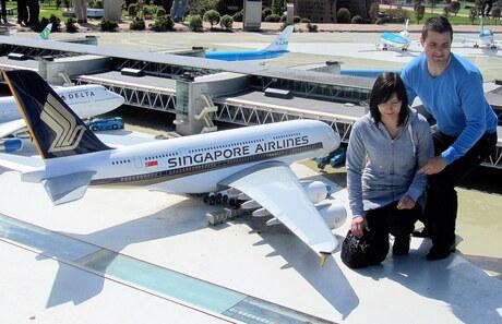 Vliegtuig op zakformaat