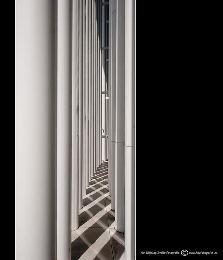 schaduw pilaren