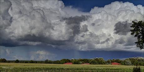 Wolken boven Walchum