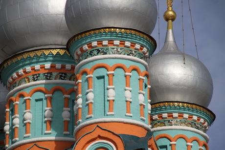 Detail Russische Kathedraal Moskou