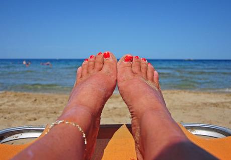 Zon, zee, zand dus vakantie!