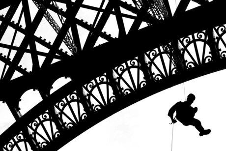 Eiffel Tower Abseiling