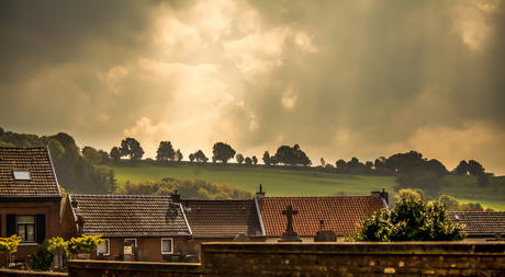 Prachtig landschap van Limburg