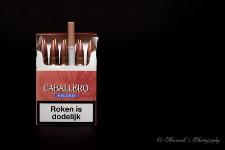 smoking kills...