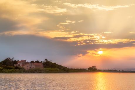 Sunset aan de Bourdigou