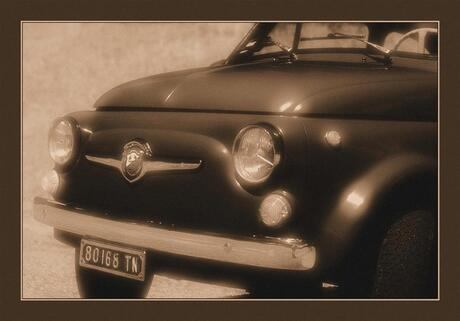 'Oud' Fiatje in Italië...
