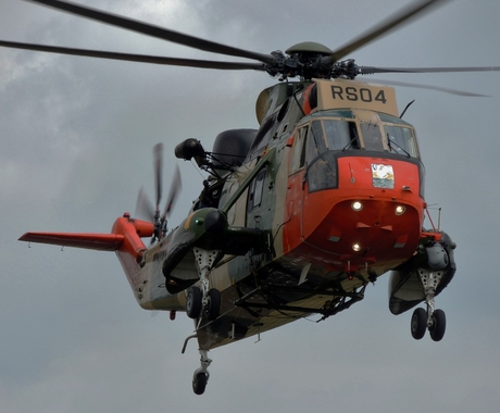 Belgische reddingshelikopter