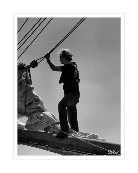 Stoere kerel op Sail