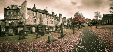 Autumn on Greyfriars Cemetery