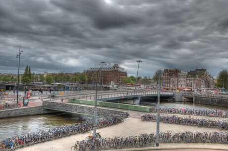 Prins Hendrikkade Amsterdam HDR