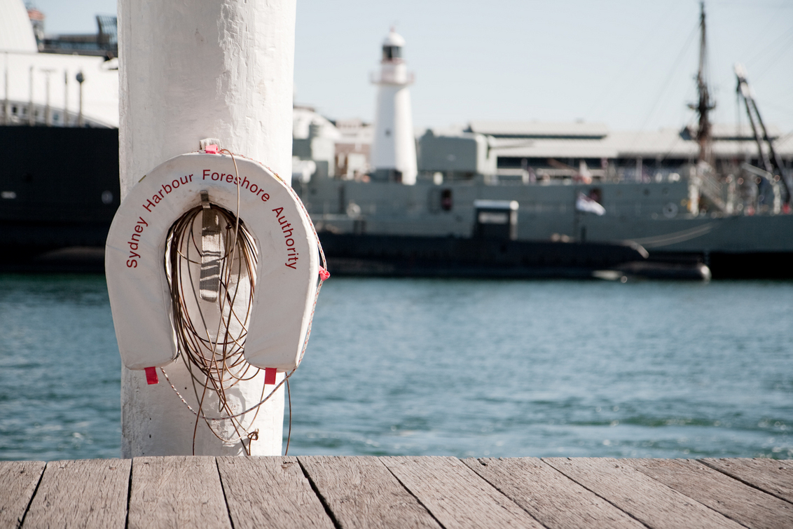 Sydney Harbor - Weet niet waarom, maar vond het wel een leuk plaatje... - foto door haikodejong op 07-08-2010 - deze foto bevat: haven