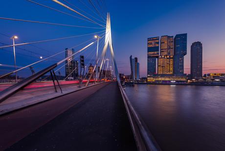 Erasmusbrug en De Rotterdam