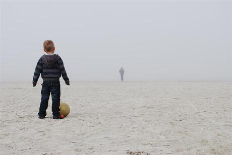 Verdwijning in de mist