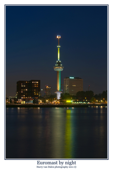 Euromast by night