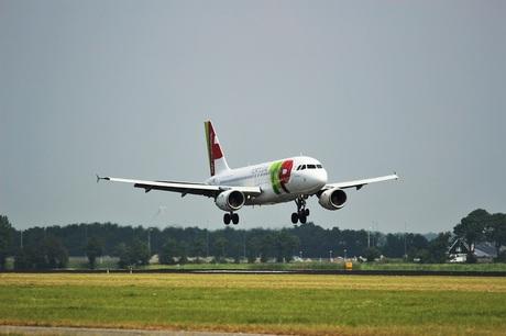 Vliegtuig uit Portugal