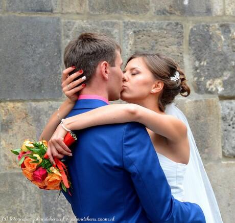 Verliefd, verloofd, getrouwd.