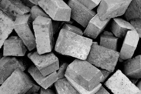 Partij stenen