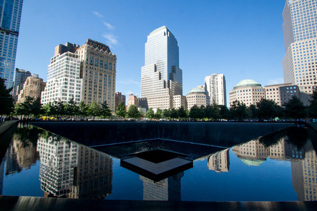 9/11 Memorial site - Reflextion pool